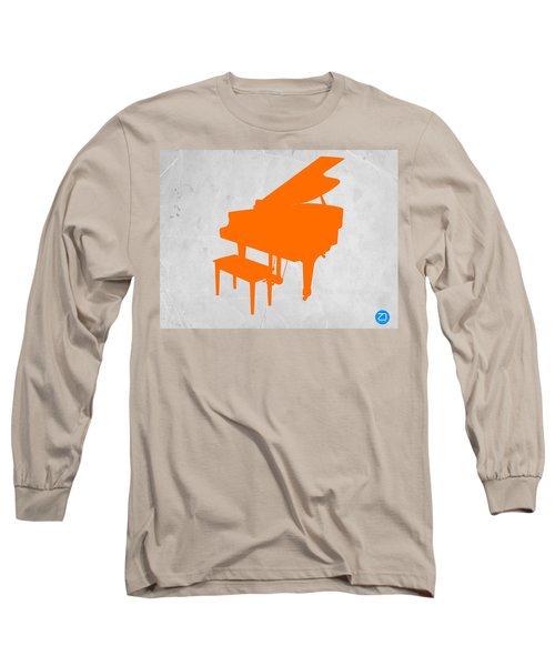 Orange Piano Long Sleeve T-Shirt