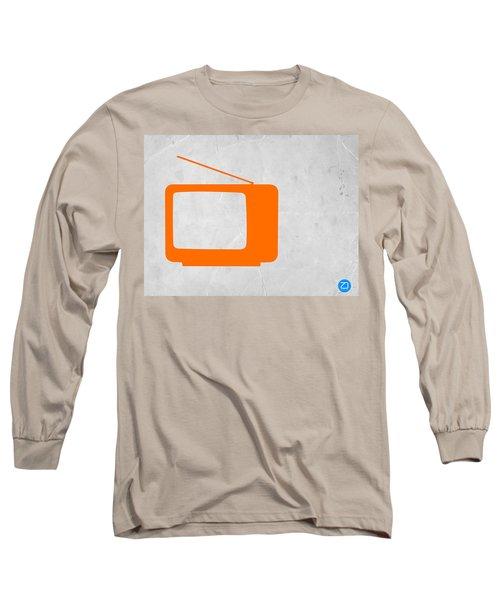 Orange Tv Vintage Long Sleeve T-Shirt