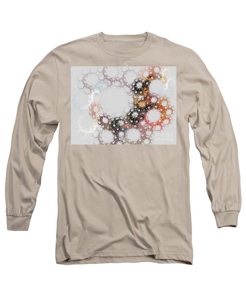 Long Sleeve T-Shirt featuring the digital art Orbital by Kim Sy Ok