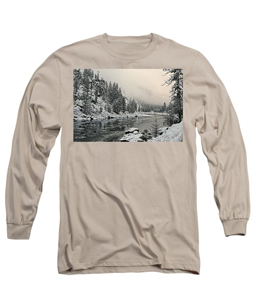 Orofino Snow Clearwater River Long Sleeve T-Shirt