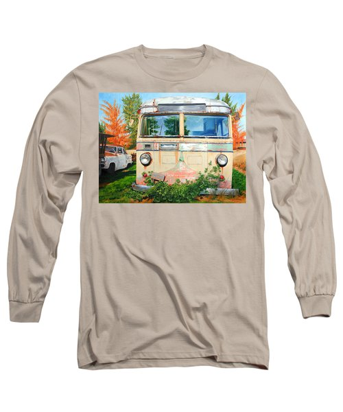 Out Where The Buses Don't Run Long Sleeve T-Shirt