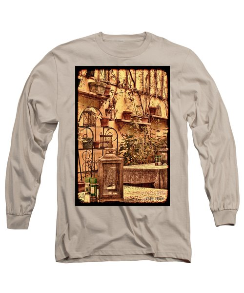 Outside Tables Long Sleeve T-Shirt