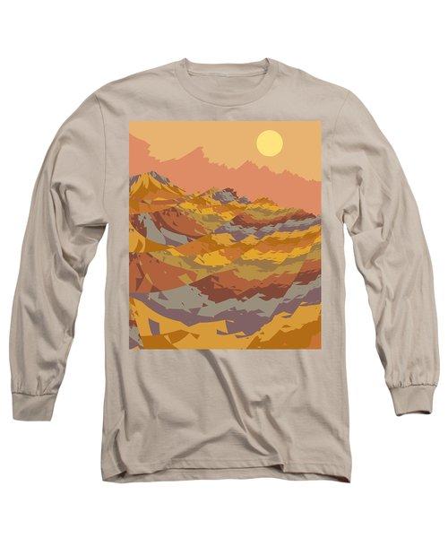 Paper Dunes Long Sleeve T-Shirt