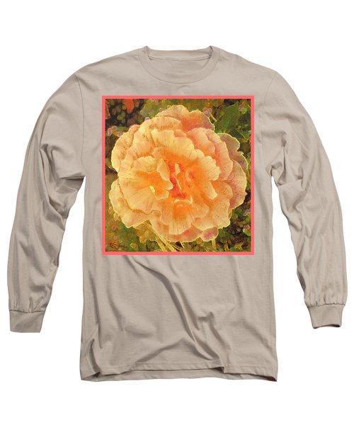 Peach Begonia Long Sleeve T-Shirt