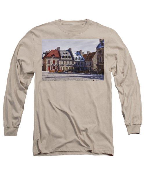 Place Royale Long Sleeve T-Shirt by Eunice Gibb