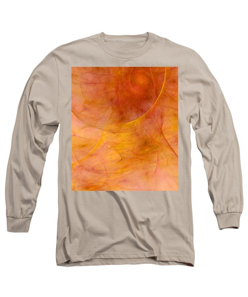 Poetic Emotions Abstract Expressionism Long Sleeve T-Shirt