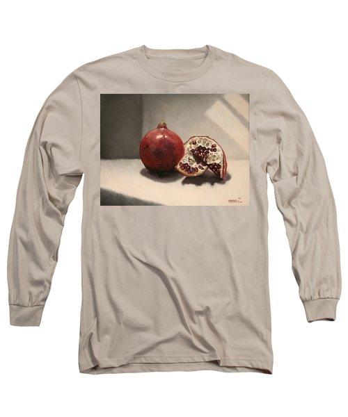Pomegranate Long Sleeve T-Shirt