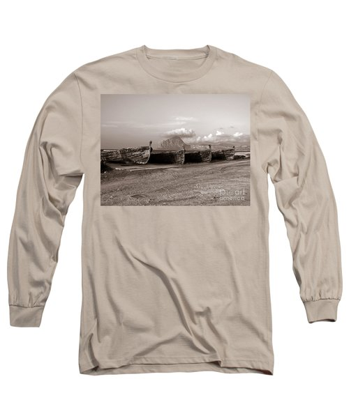 Old Port Of Trapani Long Sleeve T-Shirt