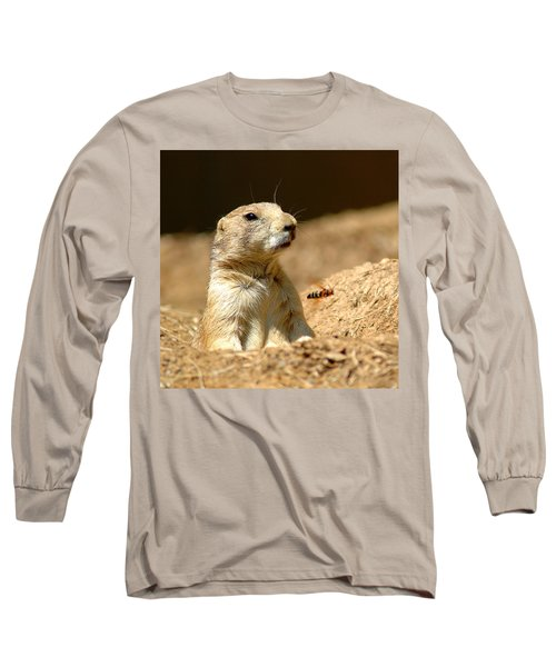 Prarie Dog Bee Alert Long Sleeve T-Shirt
