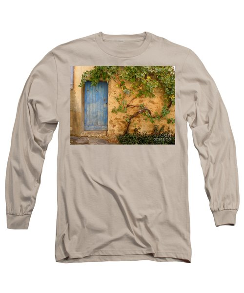Long Sleeve T-Shirt featuring the photograph Provence Door 5 by Lainie Wrightson