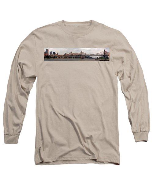 Queensboro Bridge Long Sleeve T-Shirt