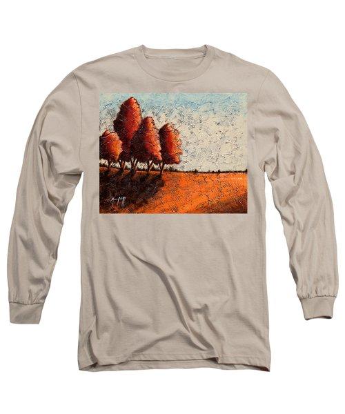 Red Quartet  Long Sleeve T-Shirt