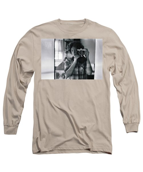 Reflecting Back Long Sleeve T-Shirt by Rory Sagner