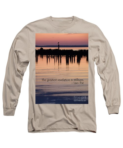 Long Sleeve T-Shirt featuring the photograph Revelation by Lainie Wrightson