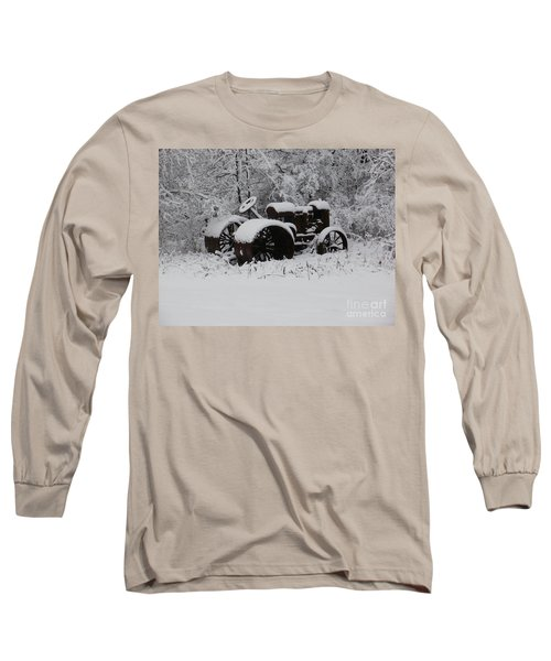 Long Sleeve T-Shirt featuring the photograph Robed In White by Christian Mattison