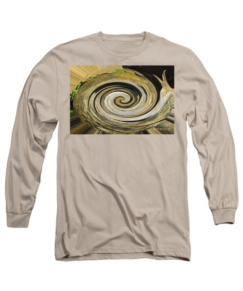 Rocky Road Long Sleeve T-Shirt by Cindy Manero