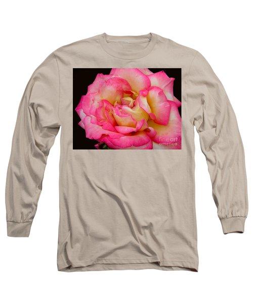 Rose 2 Long Sleeve T-Shirt by Mark Gilman