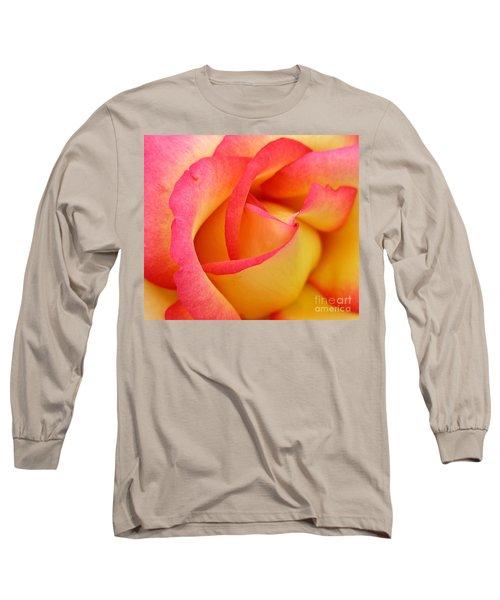 Rose 3 Long Sleeve T-Shirt by Mark Gilman