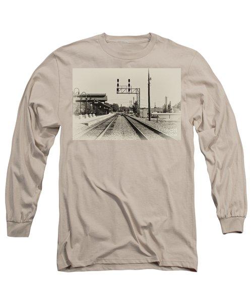 Salisbury North Carolina Depot Long Sleeve T-Shirt