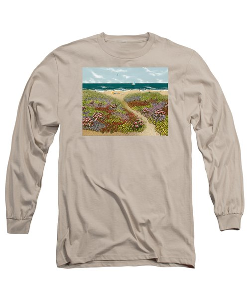Sand Path Long Sleeve T-Shirt by Katherine Young-Beck