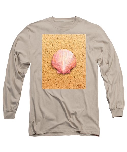 Scallop Shell Long Sleeve T-Shirt