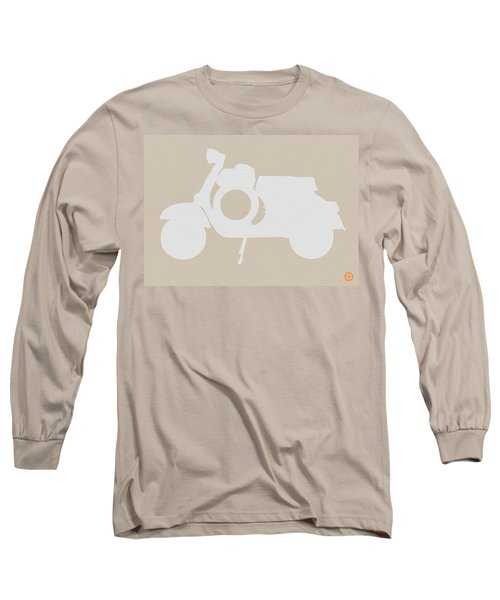 Scooter Brown Poster Long Sleeve T-Shirt