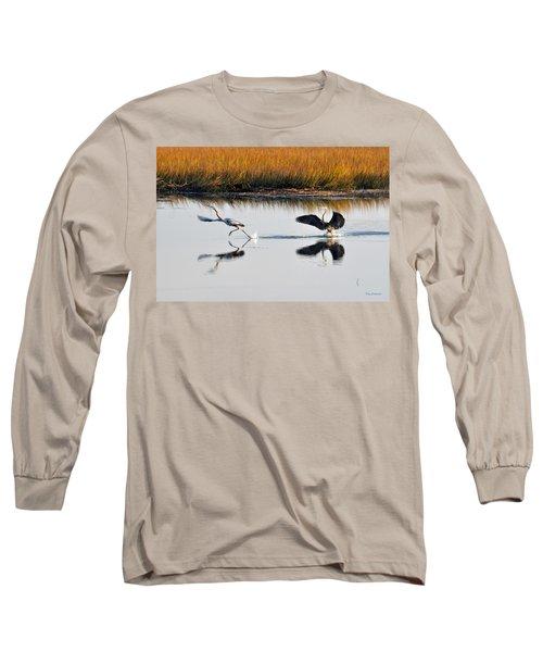 Scram Long Sleeve T-Shirt by Kay Lovingood