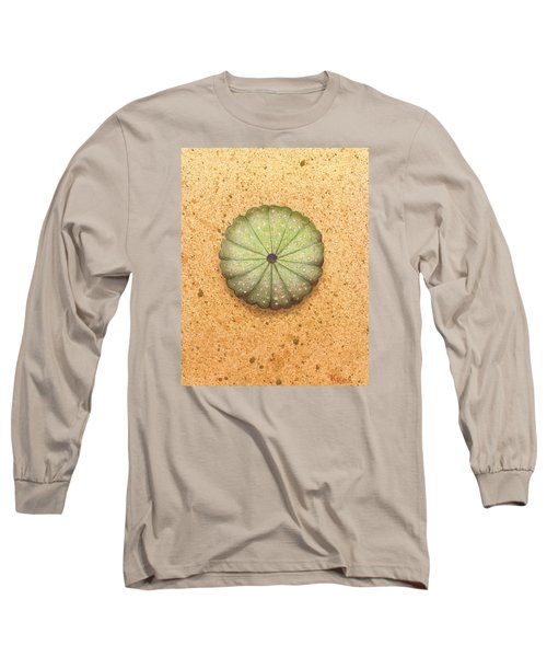 Sea Urchin Long Sleeve T-Shirt by Katherine Young-Beck