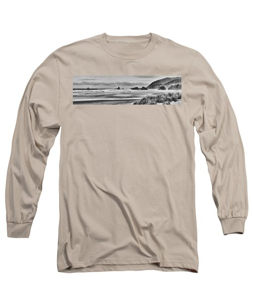 Seaside By The Ocean Long Sleeve T-Shirt by James Heckt