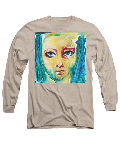 Self Portrait I  Long Sleeve T-Shirt by Sheridan Furrer