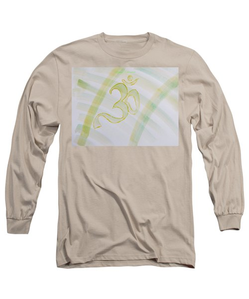 Long Sleeve T-Shirt featuring the painting Serenity by Sonali Gangane