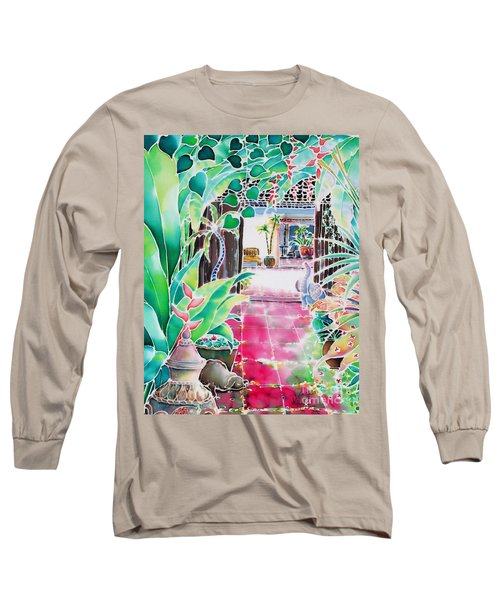 Shade In The Patio Long Sleeve T-Shirt