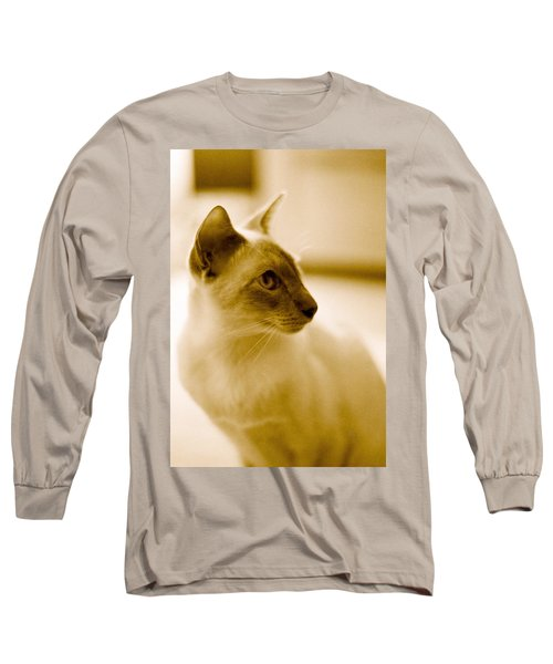 Siamese Feline Long Sleeve T-Shirt