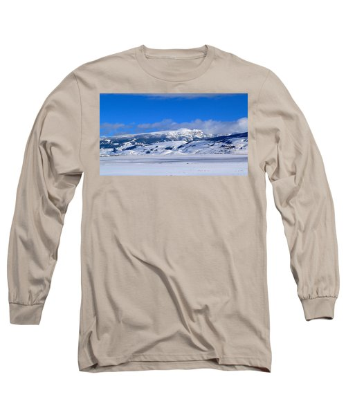 Long Sleeve T-Shirt featuring the photograph Sleeping Indian by Eric Tressler