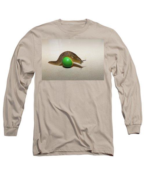 Slug On The Ball Long Sleeve T-Shirt
