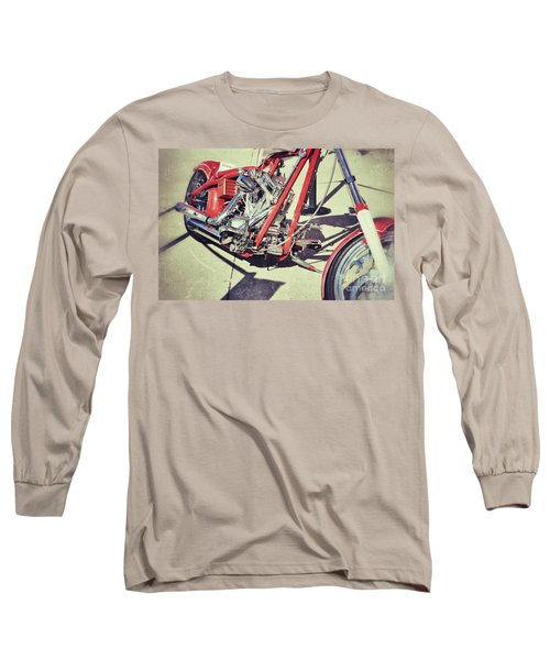 Snap On Long Sleeve T-Shirt