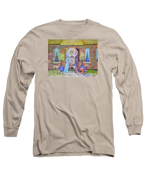 Snow White And Rose Red Long Sleeve T-Shirt