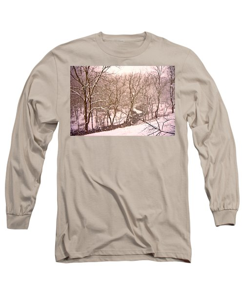 Snowy Country Day Long Sleeve T-Shirt