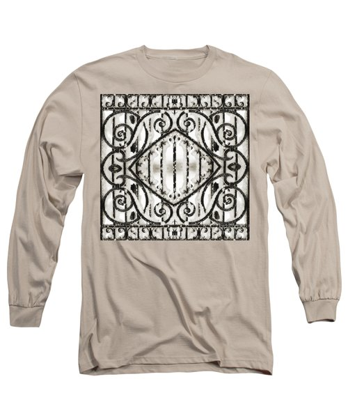 Snowy Forms Long Sleeve T-Shirt