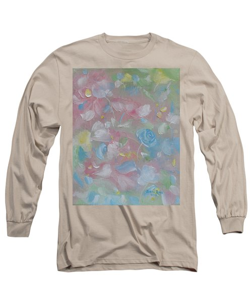 Long Sleeve T-Shirt featuring the painting Softly Spoken by Judith Rhue