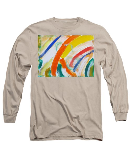 Long Sleeve T-Shirt featuring the painting Souls by Sonali Gangane