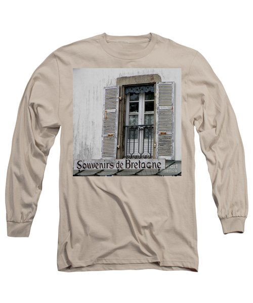 Long Sleeve T-Shirt featuring the photograph Souvenirs De Bretagne by Lainie Wrightson