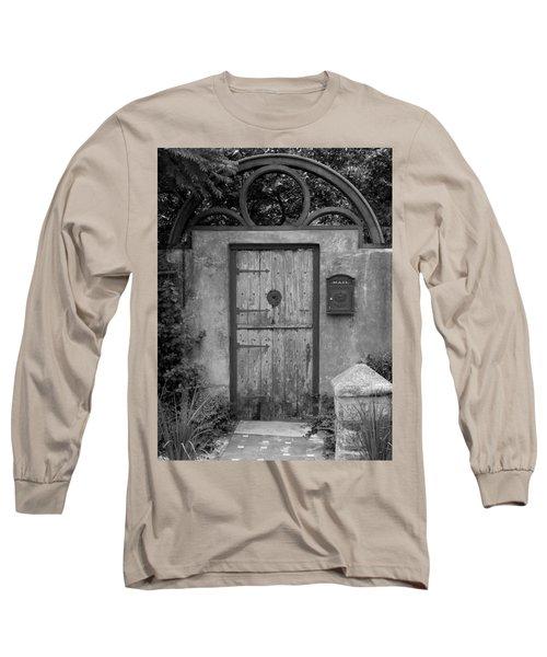 Spanish Renaissance Courtyard Door Long Sleeve T-Shirt