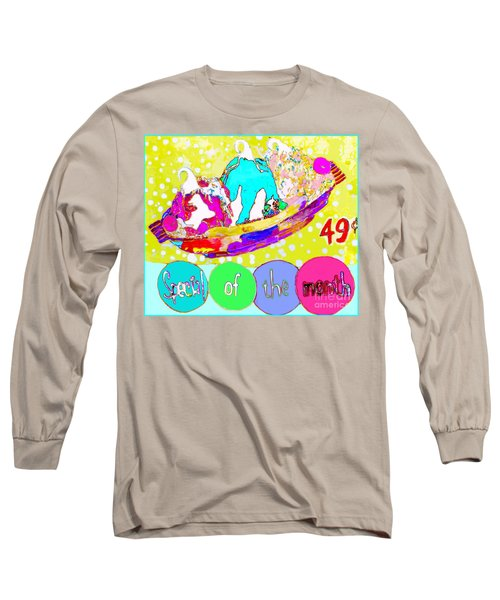 Special Of The Month Long Sleeve T-Shirt by Beth Saffer