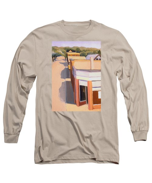 Stoneham Square Three 1979 Long Sleeve T-Shirt by Nancy Griswold