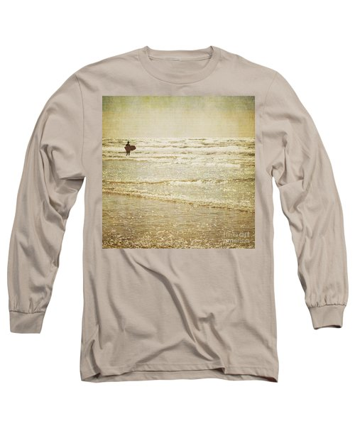Surf The Sea And Sparkle Long Sleeve T-Shirt by Lyn Randle