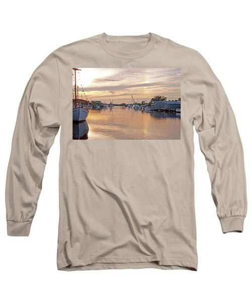 Tarpon Springs Sunset Long Sleeve T-Shirt