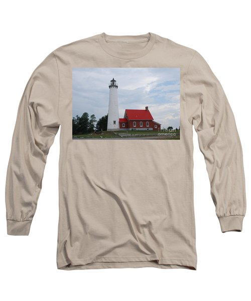 Tawas Point Lighthouse Long Sleeve T-Shirt