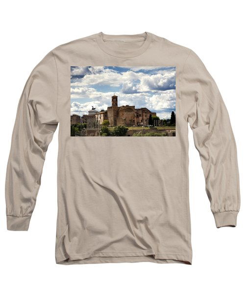 Temple Of Venus And Roma Long Sleeve T-Shirt