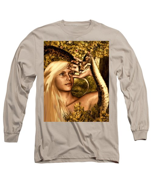 Temptation Long Sleeve T-Shirt by Lourry Legarde